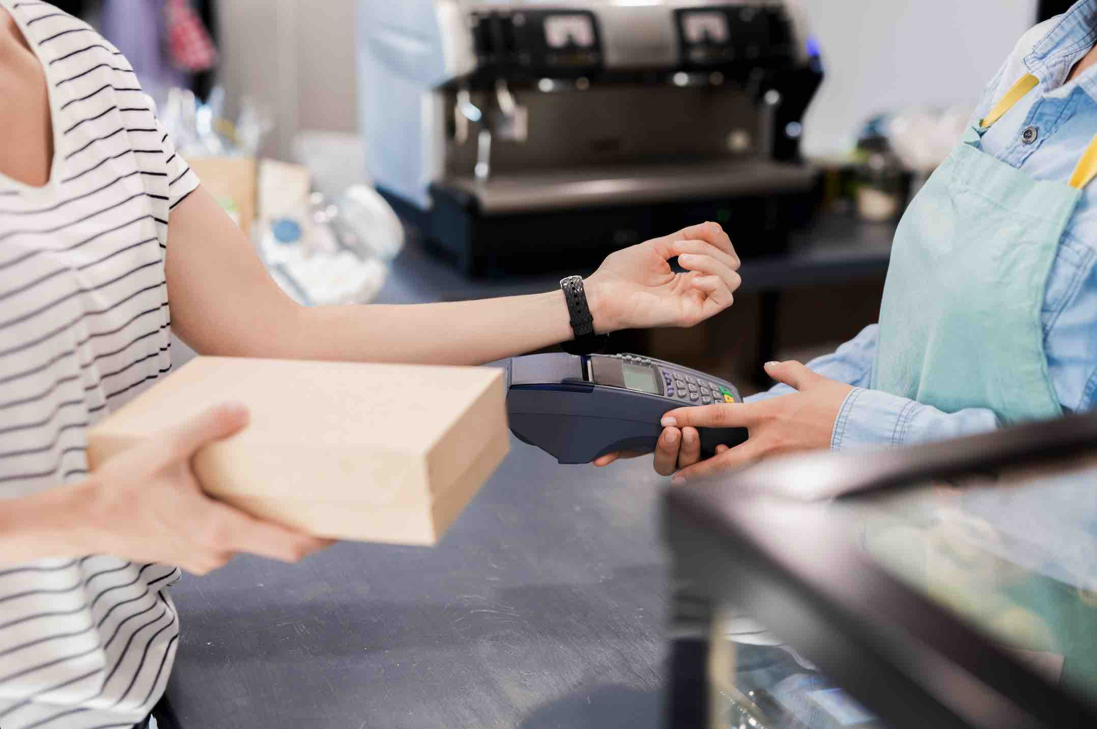 Smartwatch mobile payment