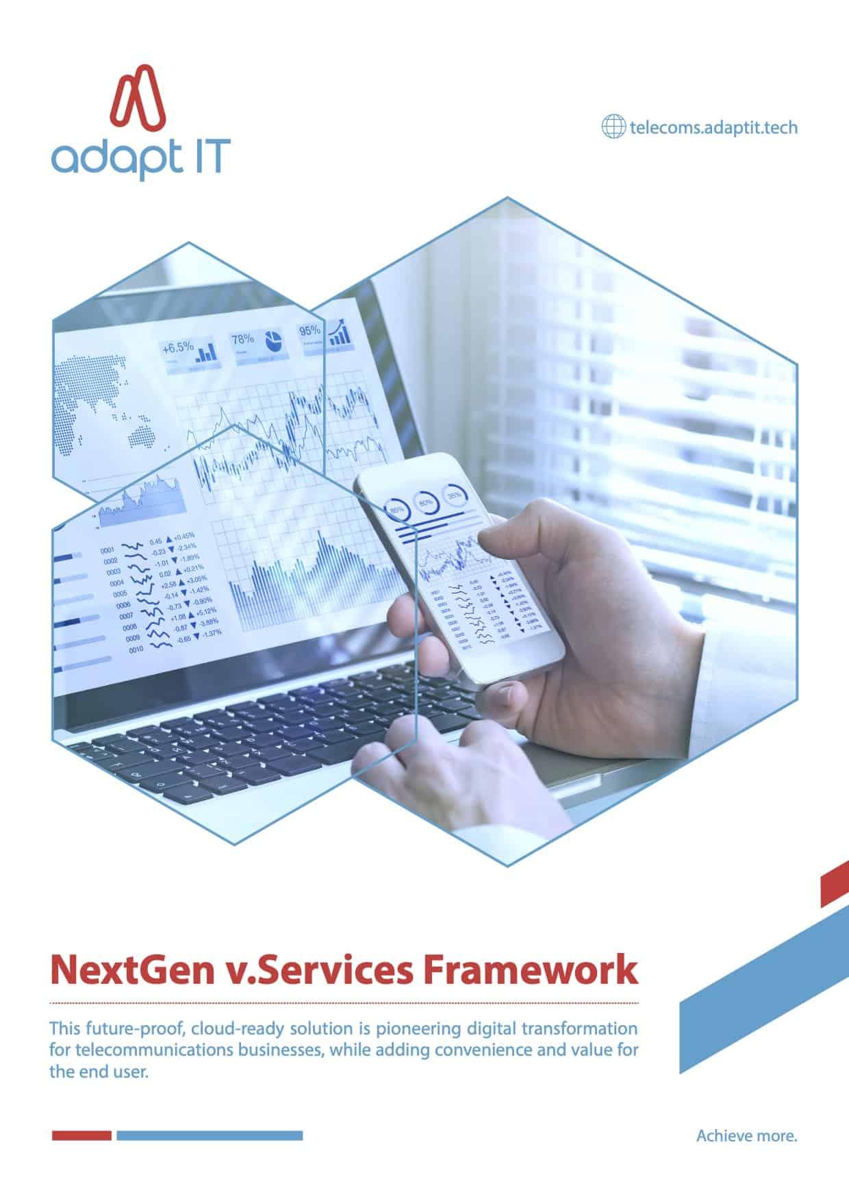 NextGen vServices Framework myriad font2a