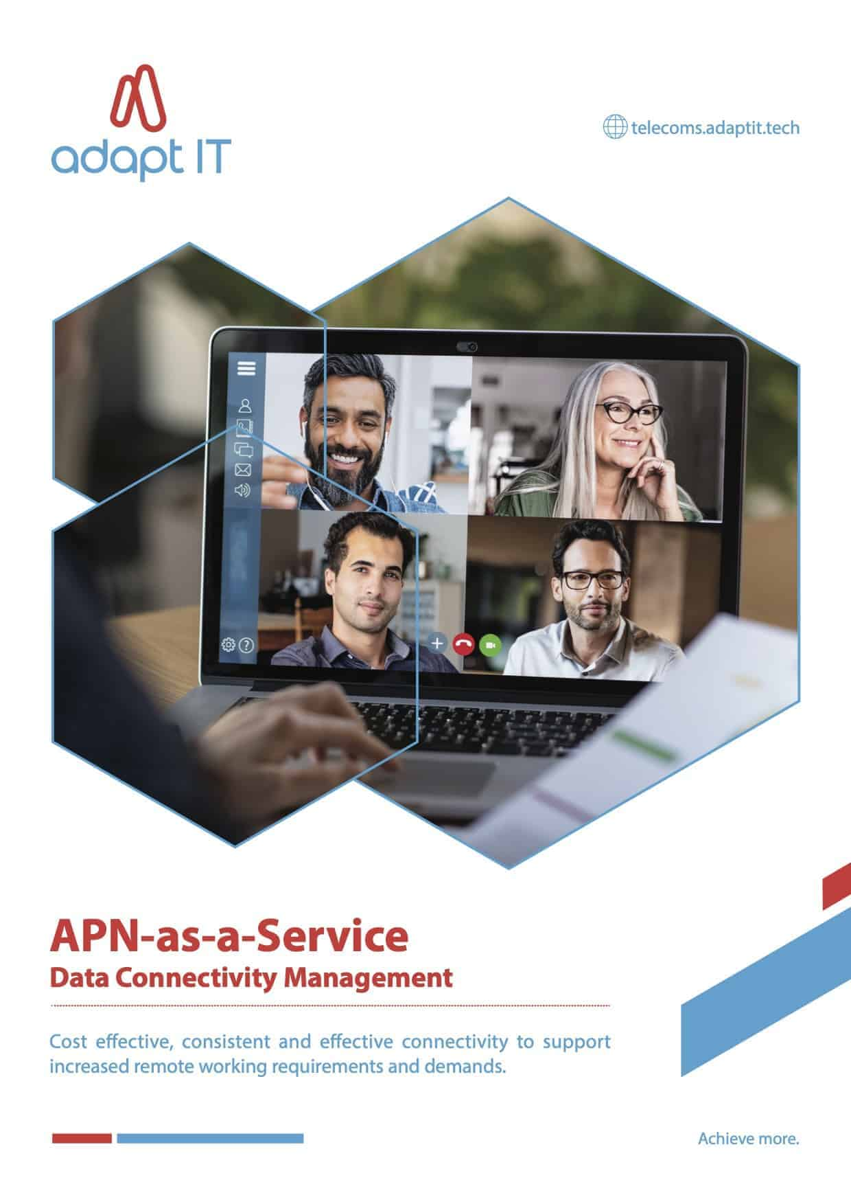 APN as a Service Data Connectivity Management remote work from home
